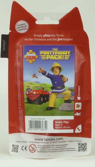 Tonies Fireman Sam The Pontypandy Pack